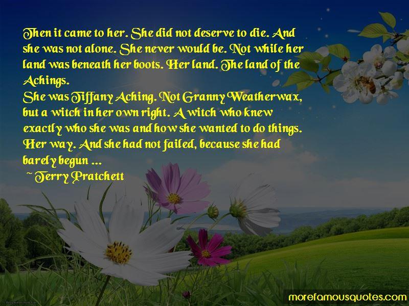 Granny Aching Quotes