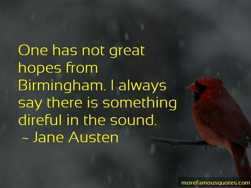 Great Birmingham Quotes