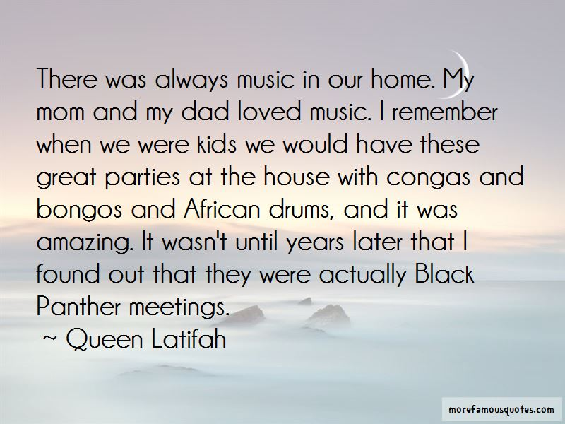 Great House Music Quotes