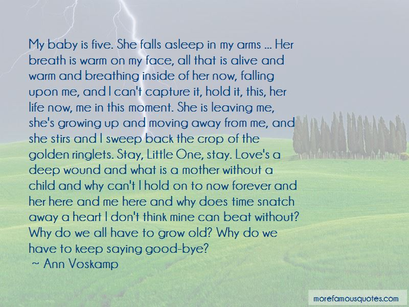 About growing up and moving on quotes The 50