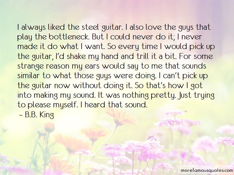 Guitar Pick Love Quotes