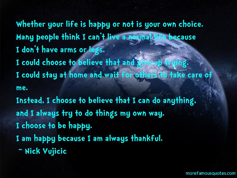 Happy Or Not Quotes Pictures 4