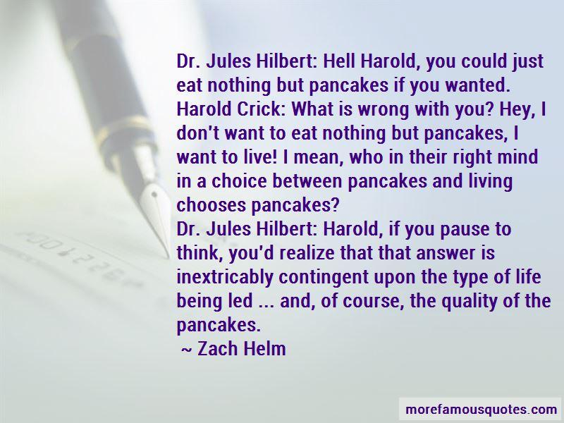 Harold Crick Quotes