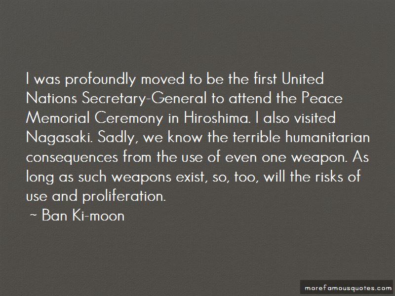 Hiroshima Peace Quotes