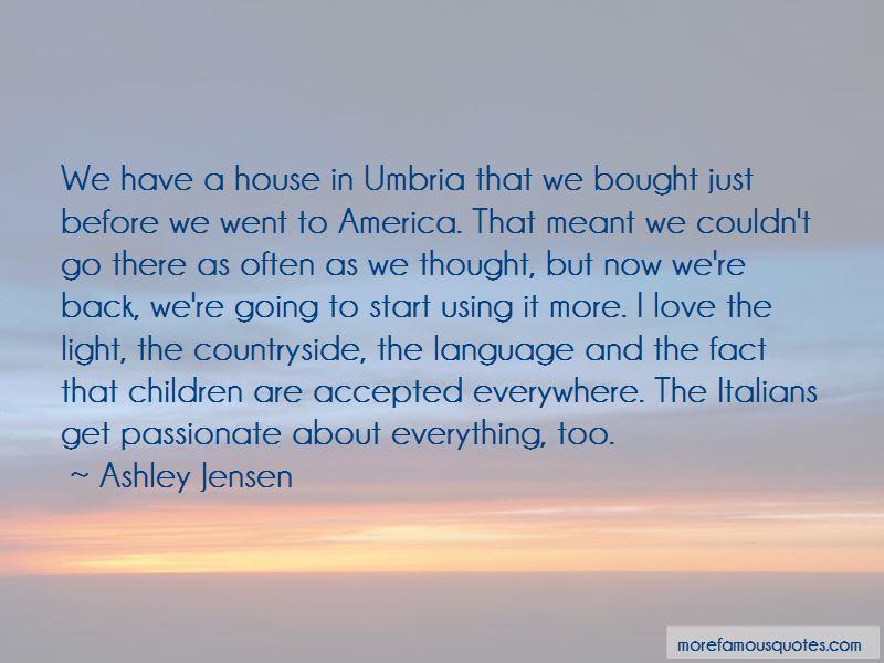 House In Umbria Quotes