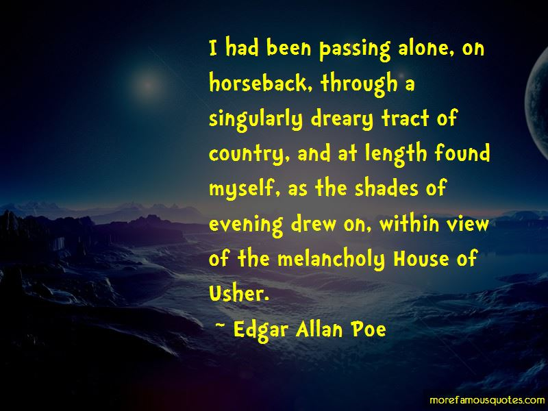 House Of Usher Quotes