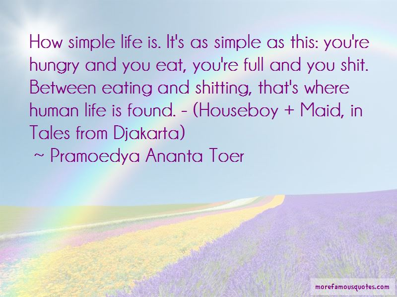 How Simple Life Is Quotes Pictures 3