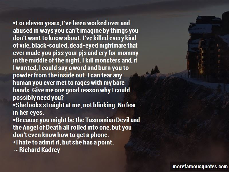 I Cry Every Night Because Of You Quotes