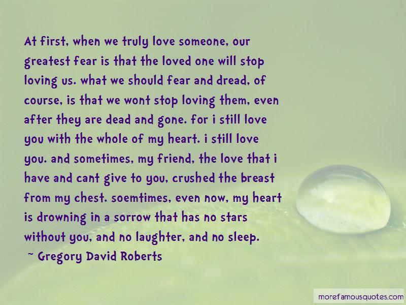 I Won't Stop Loving U Quotes
