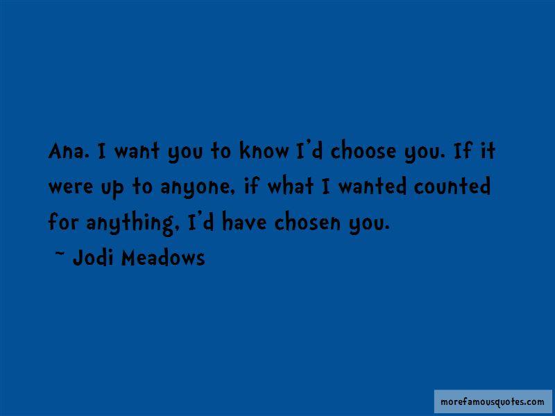 I'd Choose You Quotes
