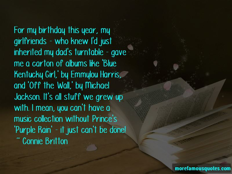 I'm The Birthday Girl Quotes