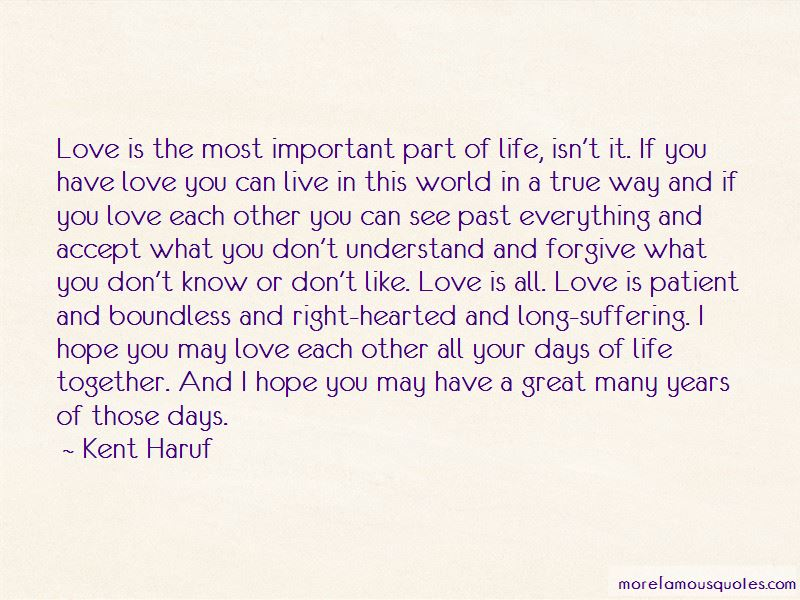 Important Part Of Life Quotes Pictures 3