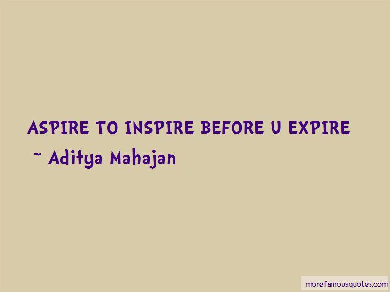 Inspire Aspire Quotes