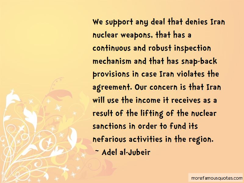 Iran Nuclear Weapons Quotes