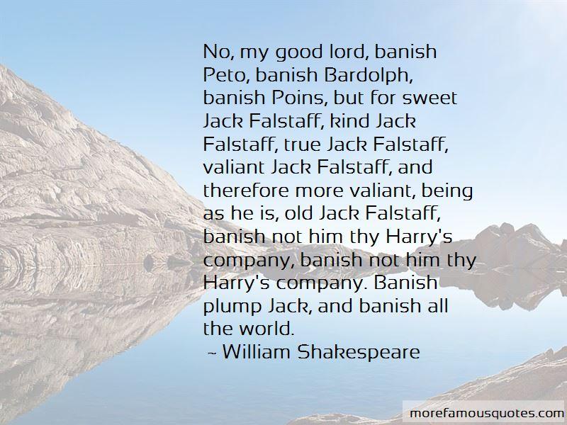 Jack Falstaff Quotes