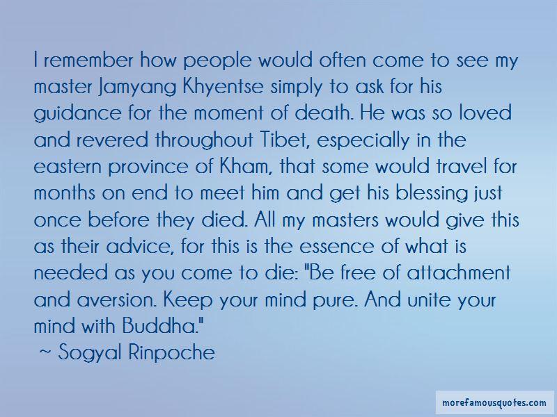 Jamyang Khyentse Quotes