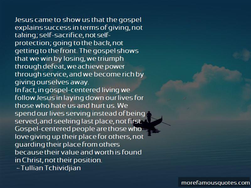 Jesus Self Sacrifice Quotes