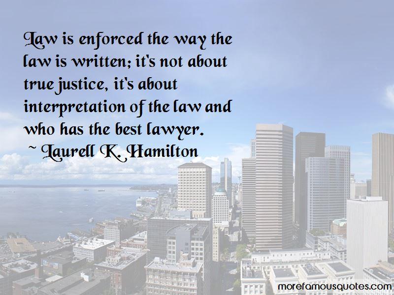Law Interpretation Quotes