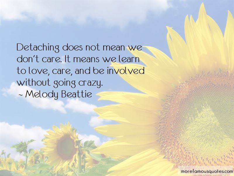 Learn To Not Care Quotes
