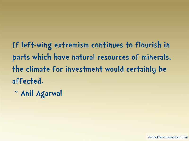 Left Wing Extremism Quotes