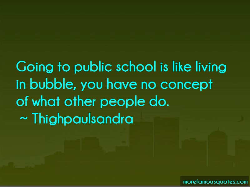 Living In Bubble Quotes