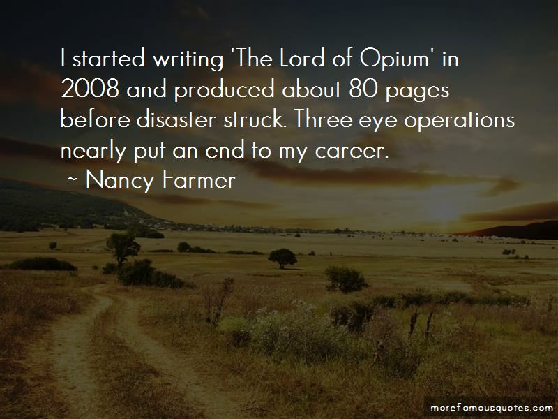 Lord Of Opium Quotes