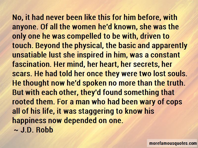 Lost In Touch Quotes