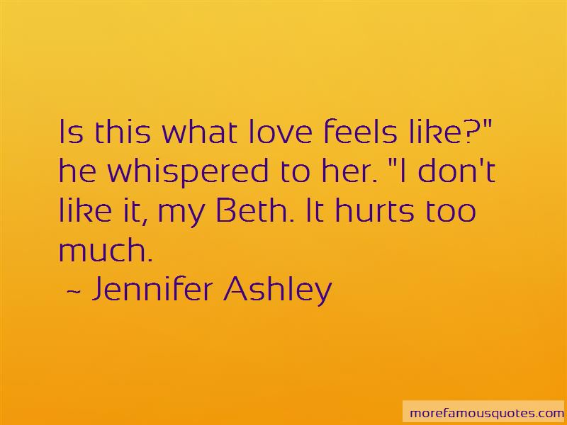 Love Him So Much Hurts Quotes