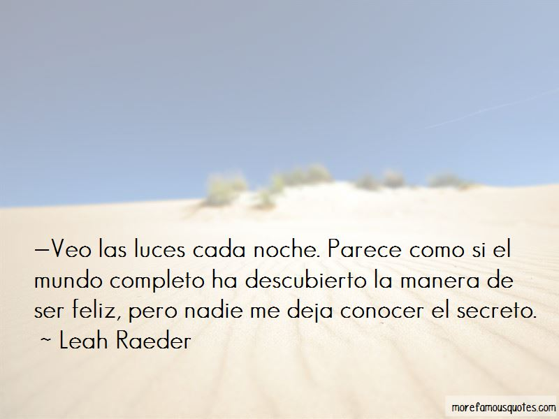 Luces Quotes
