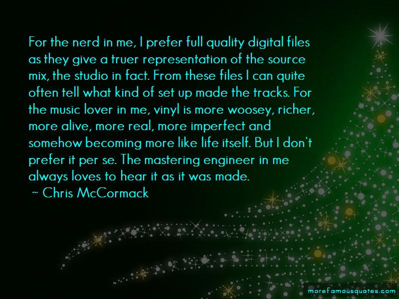 Mastering Engineer Quotes