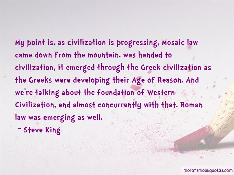 Mosaic Law Quotes