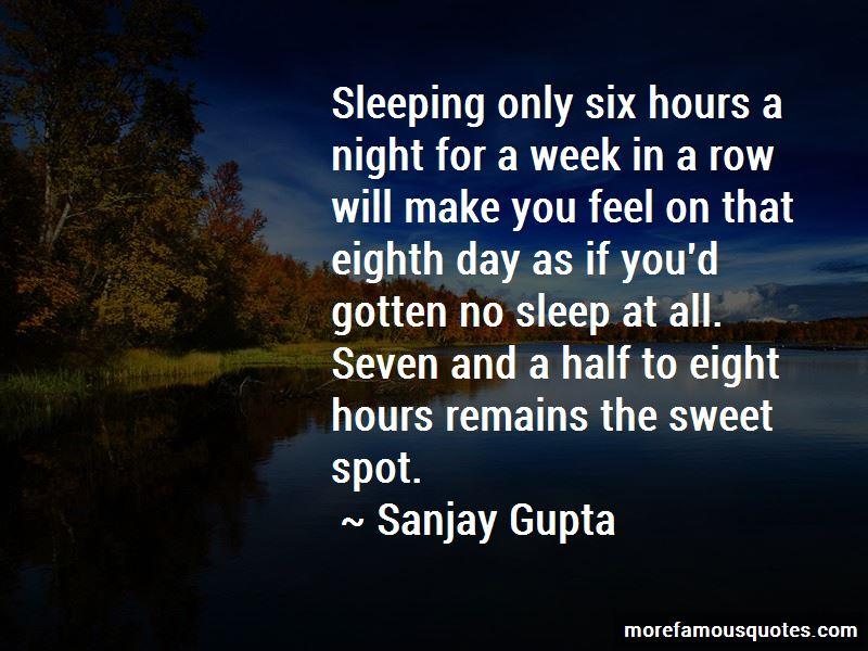No Sleep At All Quotes