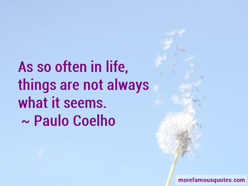 Not Always What It Seems Quotes
