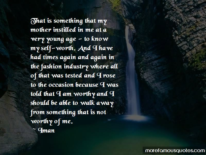 Not Worthy Of Me Quotes