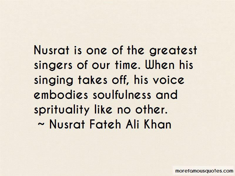 Nusrat Quotes
