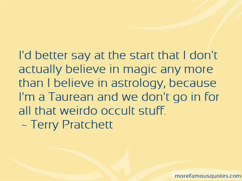 Occult Magic Quotes