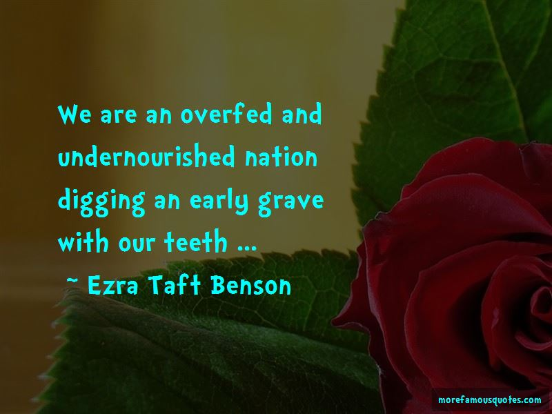 Overfed And Undernourished Quotes Pictures 2