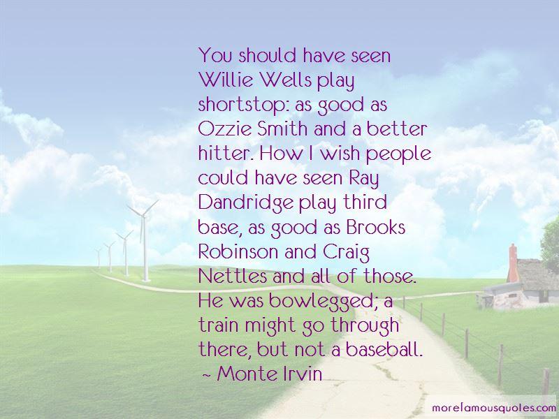 Ozzie Smith Baseball Quotes