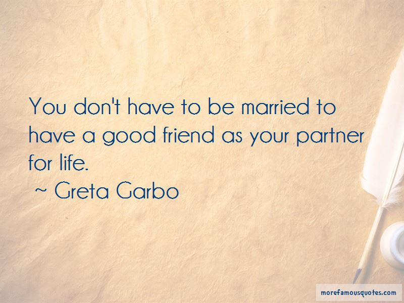 Partner For Life Quotes Pictures 3