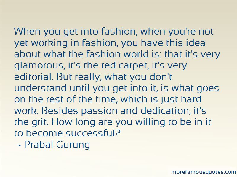 Passion And Dedication Quotes
