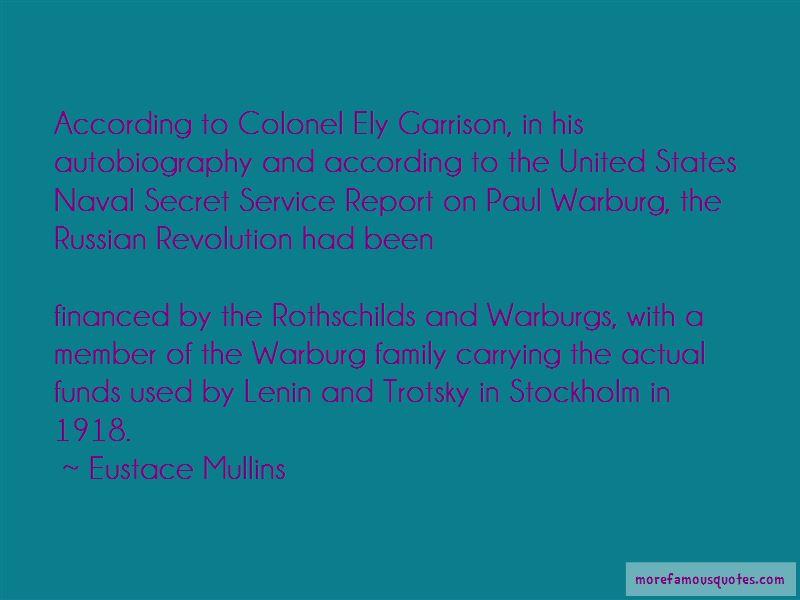 Paul M Warburg Quotes