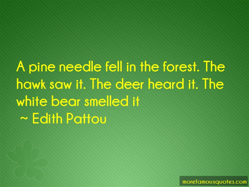 Pine Needle Quotes