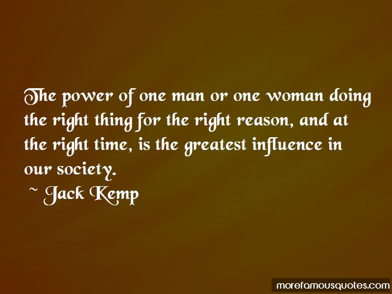 Power Of One Man Quotes Pictures 2