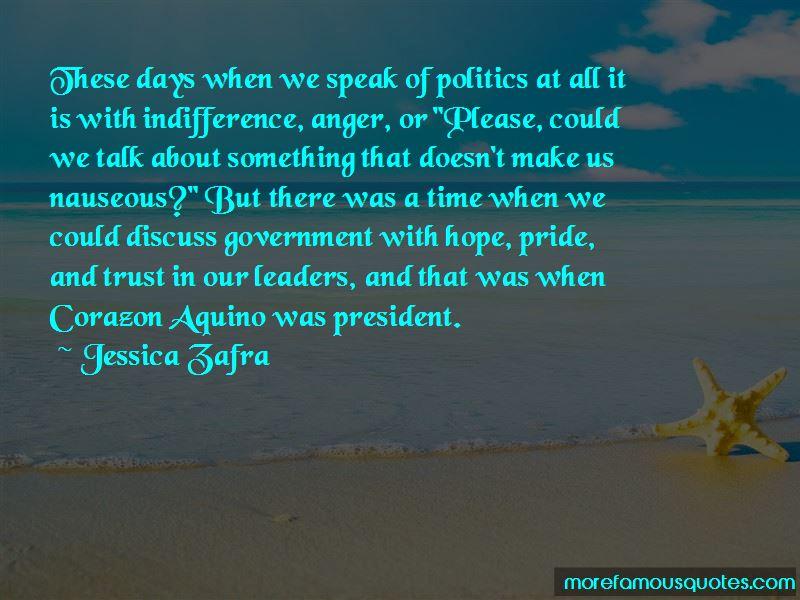President Aquino Quotes