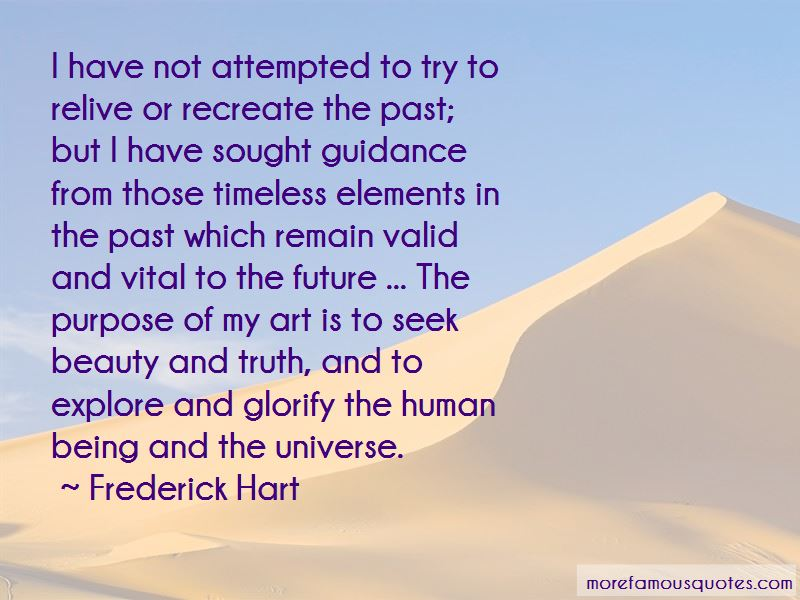 Recreate The Past Quotes