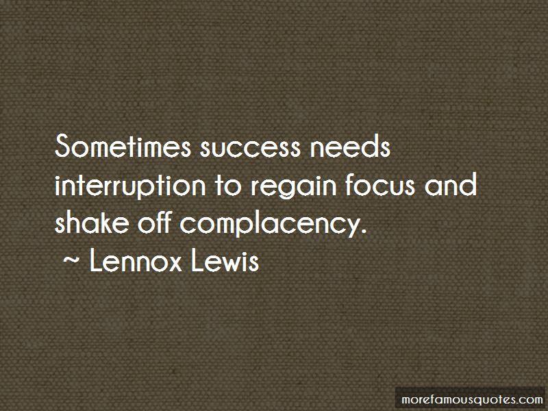 Regain Focus Quotes
