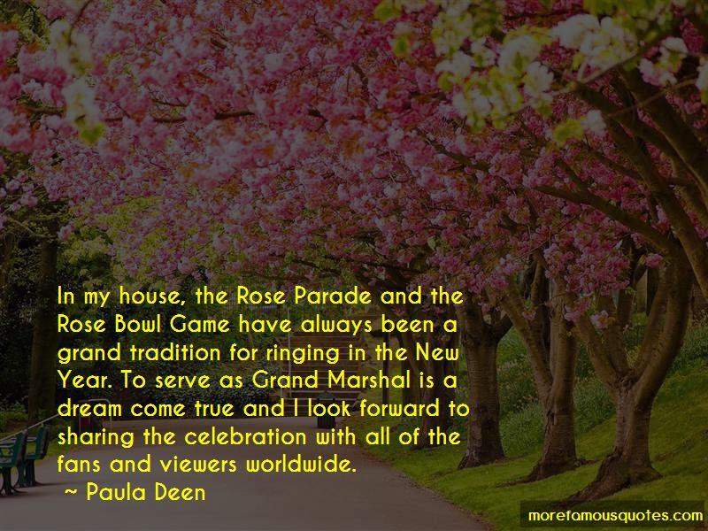 Rose Bowl Parade Quotes