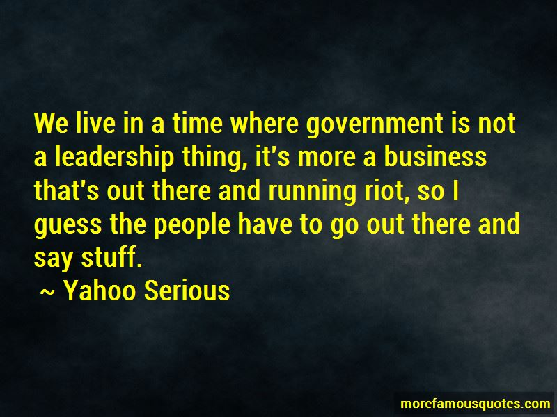 Running Riot Quotes