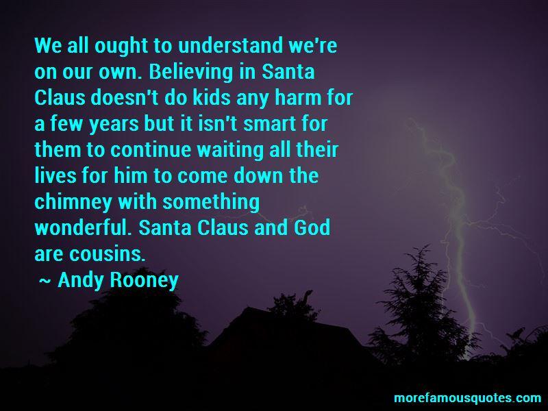 Santa Claus Believing Quotes