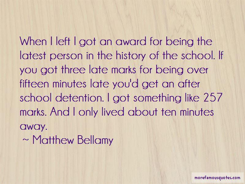 School Detention Quotes